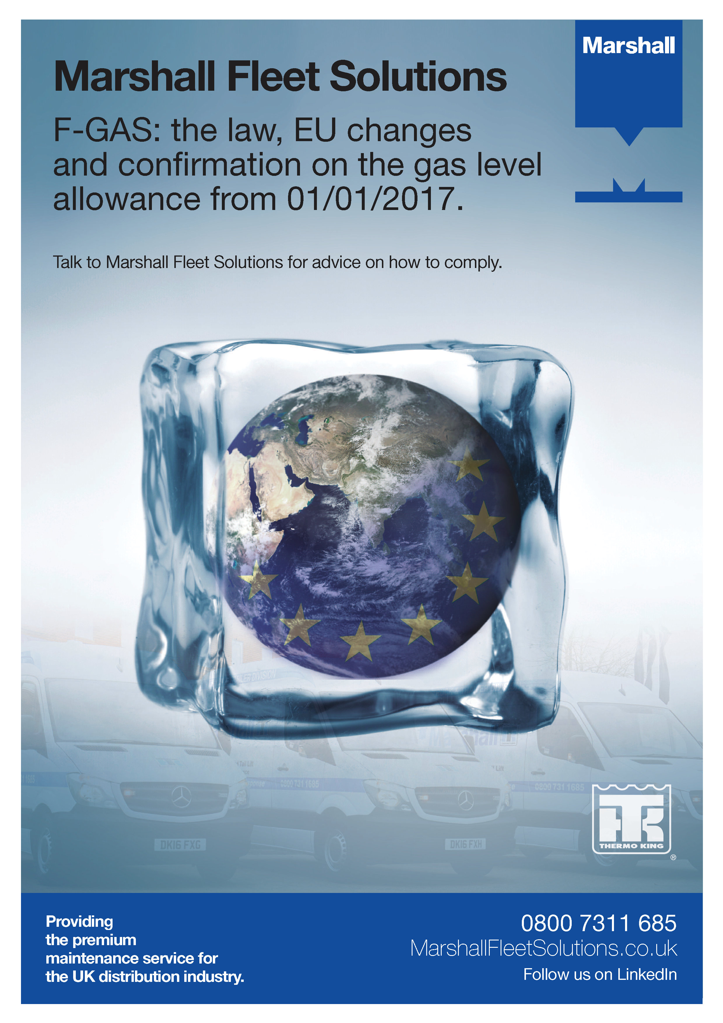 F-GAS: the law, EU changes and confirmation on the gas level allowance from 01/01/2017