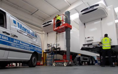 Marshall Thermo King uplifts and expands its transport refrigeration installation team