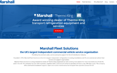 Marshall Fleet Solutions launches brand new website for 2017