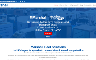 'Commercial Motor' Web Watch: Marshall Fleet Solutions