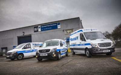 Marshall Fleet Solutions switches to Mercedes-Benz vans